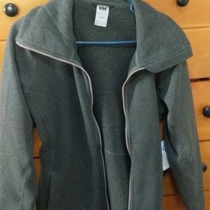 Helly hanson synnoeve knit jacket zip up size med